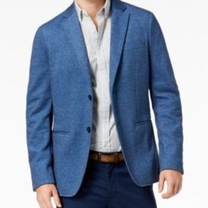 Michael Kors Men's Knit Blazer Blue **NWT**
